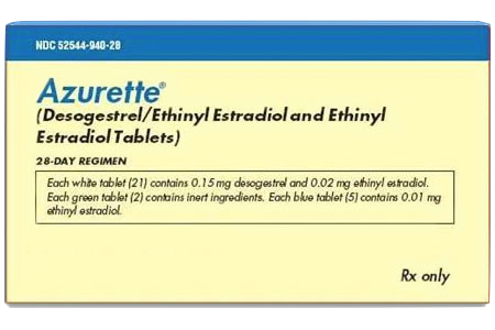 Azurette Oral Contraception Birth Control Delivered Upscript